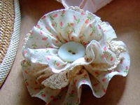 annekata Fabric Flower